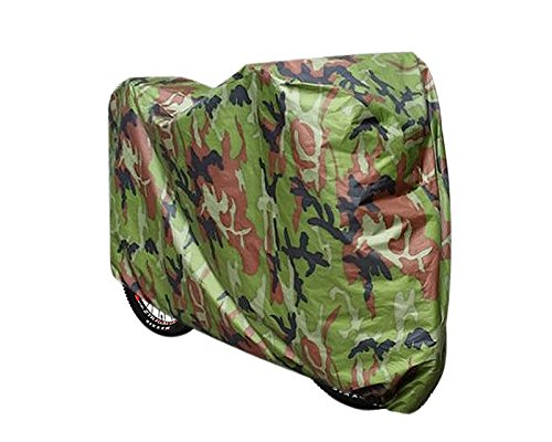 DSstyles Bike Covers Waterproof Heavy Task Bicycle Cover for Outdoor Storage Camouflage Mountain Bike Cover - Small