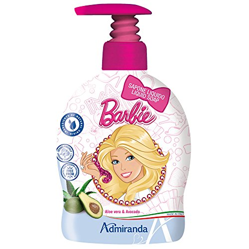 Mattel 72552 - Jabón líquido, diseño Barbie,...
