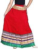 Vani Women's Cotton Ethnic Skirt (Double...