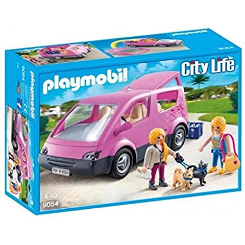 Playmobil 9054 City - Camionnette Rose