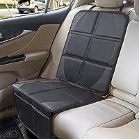 Protector antideslizante para asientos de coche - SUPTEMPO Tamaño universal para asientos de coche y de bebés o niños. Con bolsillos organizadores.