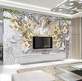 Papel Pintado 3D Fotomural Nórdico Ángel Guirnalda Murales 3D Tv Fondo Pared Murales Papel Tapiz Moderno Wallpaper