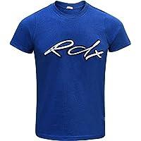 RDX Boxe Palestra Maglietta Crossfit MMA Fitness T Shirt Muscle Cotone Manica Corta Uomo Collo Rotondo