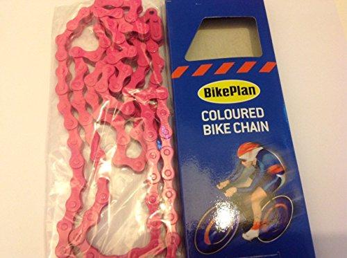 Preisvergleich Produktbild BikePlan Fahrradkette,  farbig,  Pink