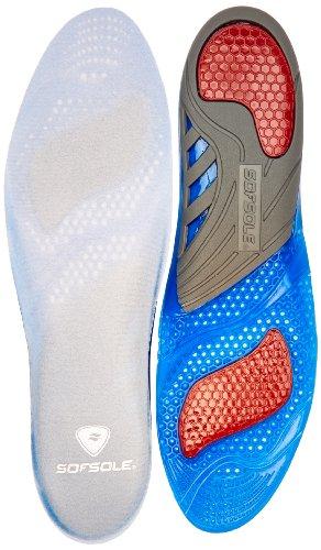 Sofsole Gel Active M, Herren Orthopädisch Einlegesohlen, Blau (Blue), One Size