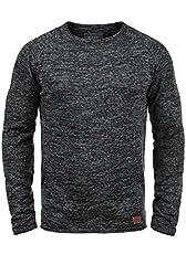 Idea Regalo - BLEND Dan - Maglione da Uomo, taglia:M;colore:Black (70155)