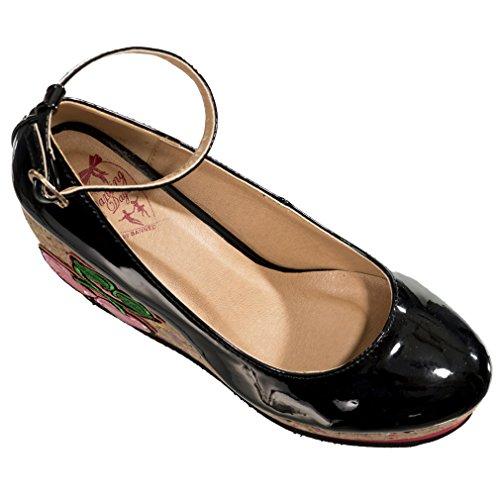 Banned, Scarpe col tacco donna nero nero One Size Nero