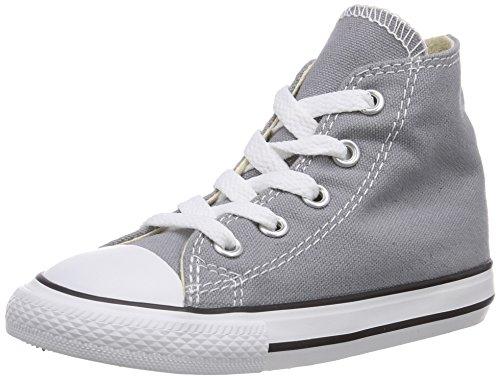 converse Ctas Seasonal Hi, Sneaker unisex bambino Grigio (Grigio (grigio))