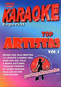 DVD KARAOKE PORTUGAIS VOL.1 ''Tony Carreira''