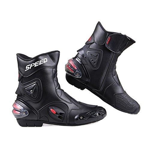 Botas de motocicleta LKN, con protección de