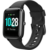 Montre Connectée Smartwatch avec Moniteur de Fréquence Cardiaque et Sommeil,Contrôle de Musique, Montre Sport Etanche…