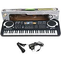 pianoforte multifunzione 61 tastiera tastiera elettronica del pianoforte musicale Bambino musicale tastiera elettronica karaoke con microfono per bambini regalo bambini
