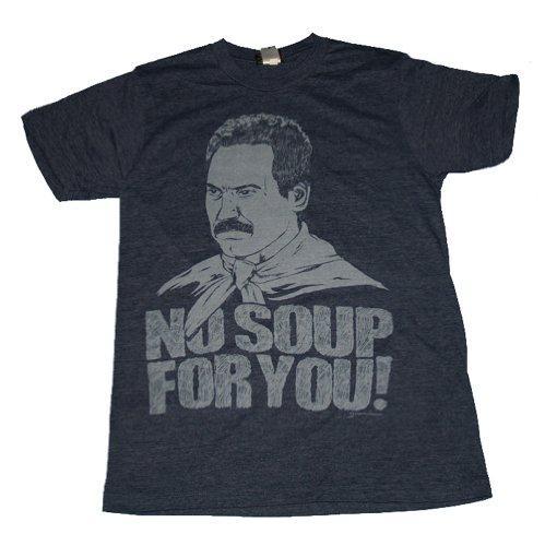 Seinfeld - - Keine Suppe für Sie Adult T-Shirt Marineblau