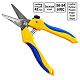 S&R Mehrzweck-Kombischere 190mm für alle Materialien mit Klinge 42mm (1 5/8') aus Edelstahl | Universalschere | Schere