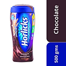 Horlicks Chocolate Nourishing Powder Drink, 500gm