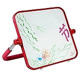 Tavolo da disegno per bambini lavagna magnetica, tavolo da disegno per bambini di 1-3 anni lavagna per graffiti per bambini della casa di moda lavagna magnetica a doppia faccia rotazione a 360 °