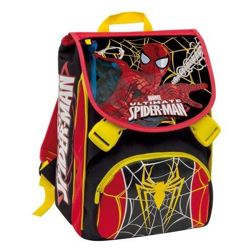Bambina: accessori Spiderman Ultimate zaino zainetto 3D stampa a rilievo,scuola,asilo bambino Borse