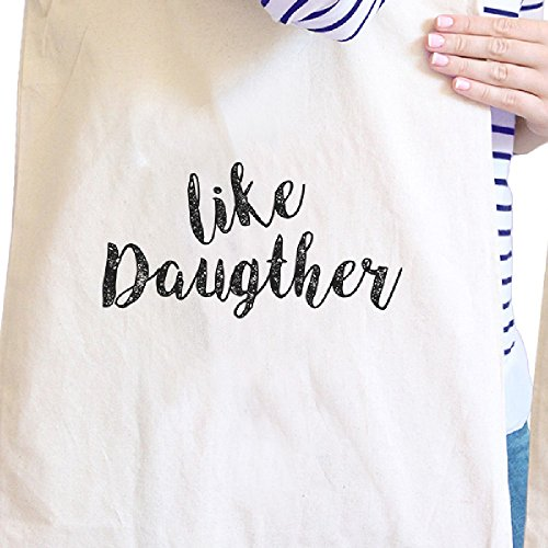 365 Printing inc , Borsa da spiaggia  Donna Best Daughter & Mother Ever - Natural Misura unica Like Daughter Like Mother - Natural