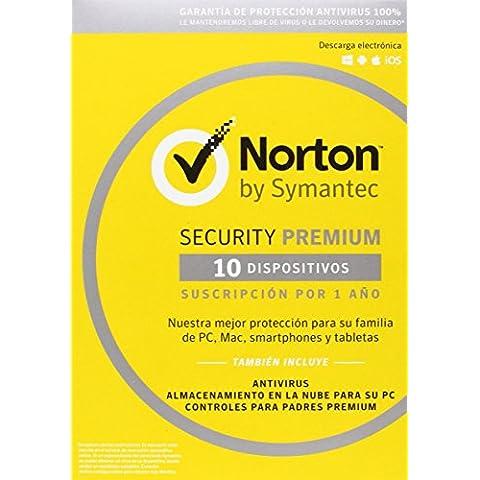 Norton Security Premium Antivirus, 10 Dispositivos