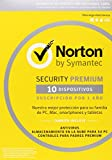 Norton Security Premium 2017 – 10 Dispositivos, 1 año