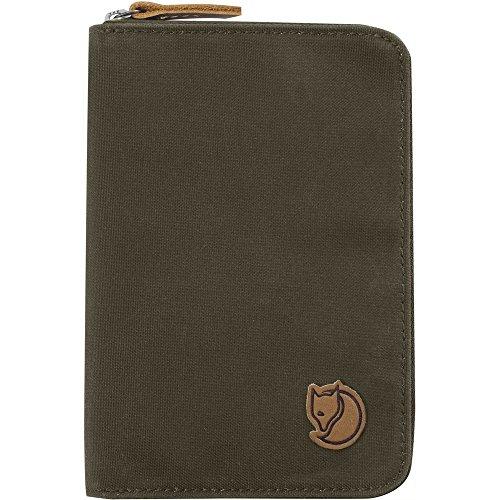 Fjällräven Unisex Travel Wallet Reisebrieftasche dark olive 633