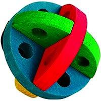 Spiel- und Snackball, Holz, für Nager, ø 8 cm