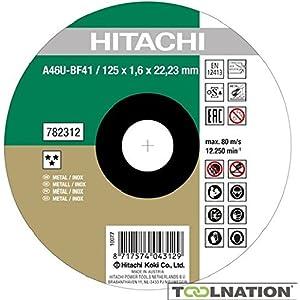 350 x 2.6 x 25.4 mm Hitachi 752572 Disco de corte de acero Metal