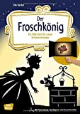 Der Froschkönig: Ein Märchen für unser Schattentheater mit Textvorlage und Figuren zum Ausschneiden