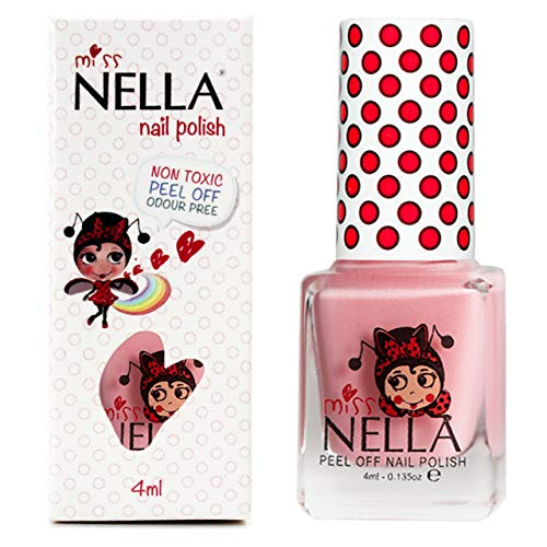 Miss Nella Cheeky Bunny Special Pink Glittery Nail