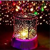 Aeeque® Romantisch / Rosa Sternenhimmel Mini-Stern-Projektor / mit USB Kabel / LED Nachtlicht Projektor Lampe Kinder Nachttischlampe Schlafzimmer Haus Dekoration