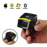 Posunitech Bluetooth barcode scanner FS02professionale finger 2D barcode scanner mobile Bluetooth lettore di codici a barre per deposito gestione fabbrica