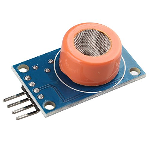 haljia MQ-3MQ3Alkohol Ethanol Sensor Alkoholtest Erkennung wahrnehmender Modul DC 3–5V 10–1000ppm 4Pin für Arduino