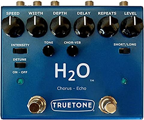 Effets guitare électrique VISUAL SOUND H2O V3 LIQUID CHORUS & ECHO Chorus - flanger - phaser...