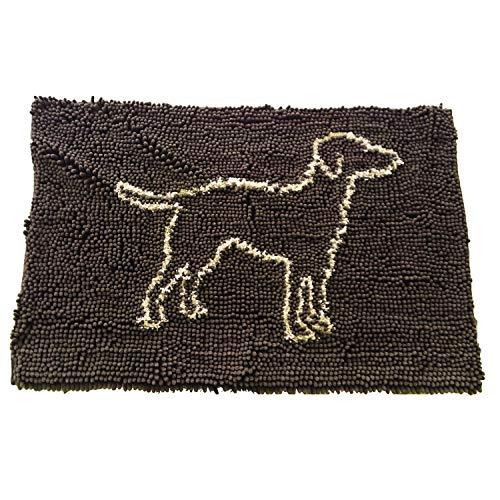 etico Pets Clean Paws Mat, 35x 61cm, marrón
