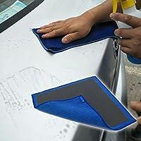 Manopla de arcilla mágica para lavar el coche o lavar el coche, cuidado de la pintura, liberación de suelo, toalla de limpieza, barro, ropa de limpieza (1 pieza, 12,99 × 11,81 pulgadas)
