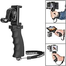Fantaseal® Grip per Fotografica d'azione Grip della fotocamera DSLR Selfie Stick Grip per Viaggio Grip per GoPro Maniglia il supporto Stabilizzatore GoPro Supporto GoPro con Clip per Smartphone (fino a schermo da 5,5