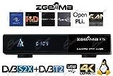 Wifi Genuine Zgemma H7s Decoder Combo UHD 4K con tuner DVB-S2X e DVB-T2 e IPTV, Enigma2, supporta feed multistream immagine