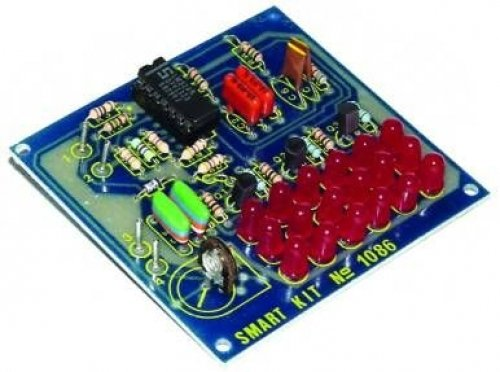 LED KFZ 3 Kanal Lichtorgel für 12V DC Bausatz B1086 --! ELEKTRONIK BAUSATZ !--