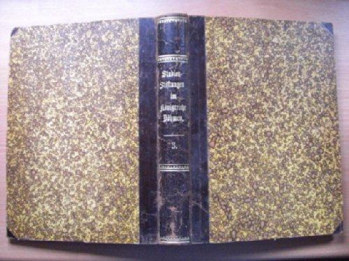 III. Bd. 1755-1800 Studijni Nadani V Kralovstvi Ceskem. VI. Svazek