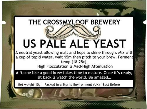 Lievito di birra, per birra fatta in casa, US Pale Ale Yeast, stile americano -