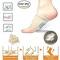 Neue pedimendtm Silikon-Gel Plantarfasziitis Fußgewölbe Ärmel mit Löchern (2) 1pair | Plantarfasziitis Therapy... preisvergleich bei billige-tabletten.eu