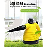 Hot Gift For Cop Rose Handheld Multi-Purpose Pressurized Steam Cleaner With 9 Accessories
