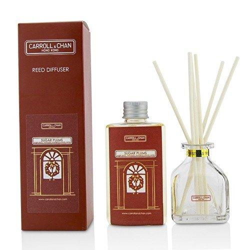 The Candle Company Reed Diffuser - Sugar Plums (Sugar Plum, Mandarin Orange & Candy Cane) 100ml (Mandarin Orange Candy)