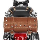 #7: UniqBrothers Bike Leatherette Saddle Bag Coffee-Royal Enfield Classic 350