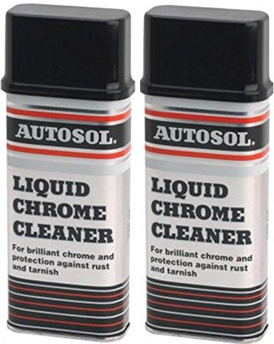 2x Autosol Liquid Chrome Reiniger Car Care Auto Reinigung je 250ml