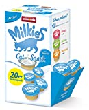 Animonda Milkies Multipack, Katzenmilch portioniert, Active, 20er Pack (4 x 300 g)