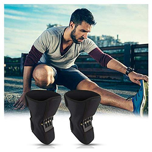 Stützknieorthese Knieorthese Pads Knie-Booster Kraftvolle Zugfeder für