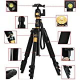 "XCSOURCE® Professional Portable Magnesium Aluminium Alloy Tripod Monopod & Ball Head For DSLR SLR Camera DV Canon Nikon Petax Sony Tripod Max Height: 55.9"", Max Load: 8KG LF393"