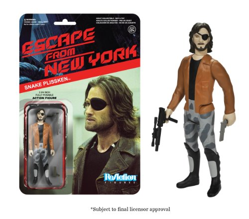 Funko Escape From New York ReAction Figures Snake Plissken with Jacket Action Figure