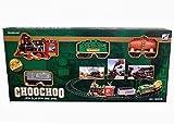#8: BATTERY OPERATED LIGHT SOUND SMOKE CHOOCHOO CLASSICAL TRAIN TRACK SET FOR KIDS